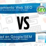 SEO vs SEM | Diferencias y ventajas