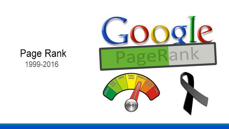 Google acaba con el PageRank
