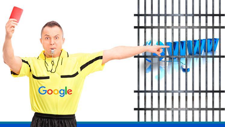 ¿Por qué te puede penalizar Google?