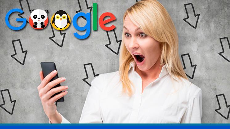 ¿Cómo puedo saber si Google me ha penalizado?