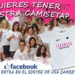 Sorteo Facebook camiseta Centros Fenómeno