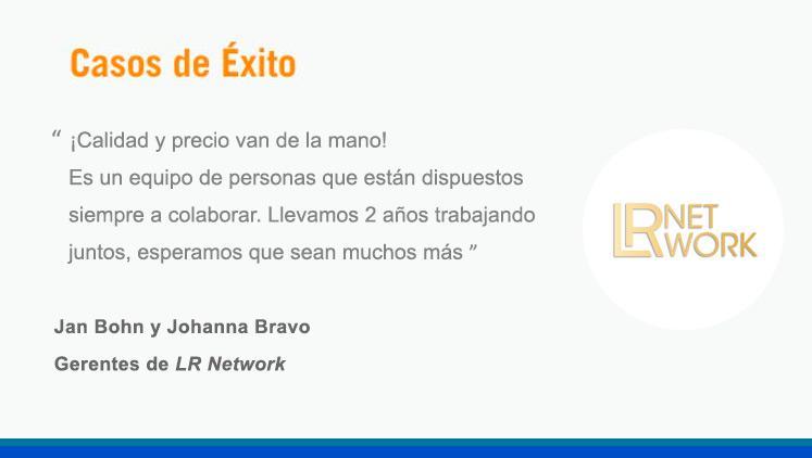 Opinión: LR Network