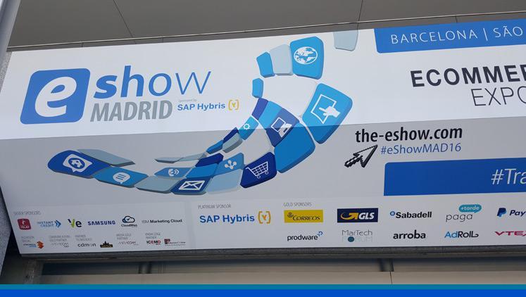 Visita al eShow Madrid 2016