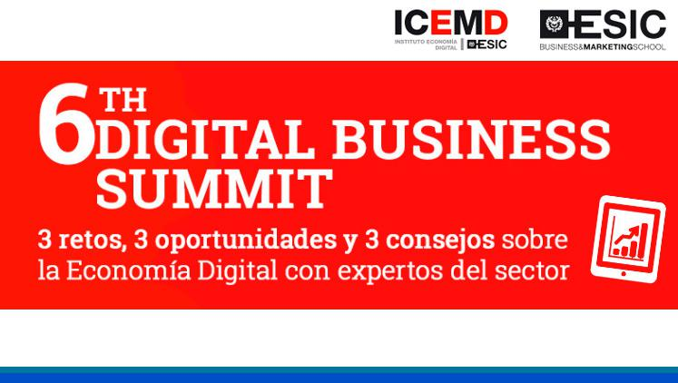 Conferencia 6th Digital Business Summit
