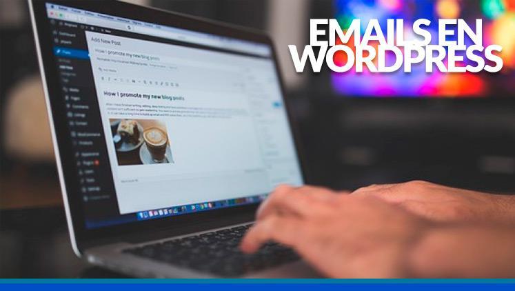 Cómo mandar emails desde WordPress
